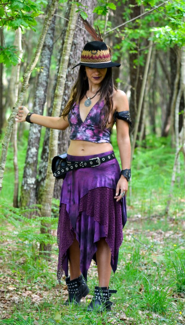 Belt Bag Silver Moon by Siga Tribal