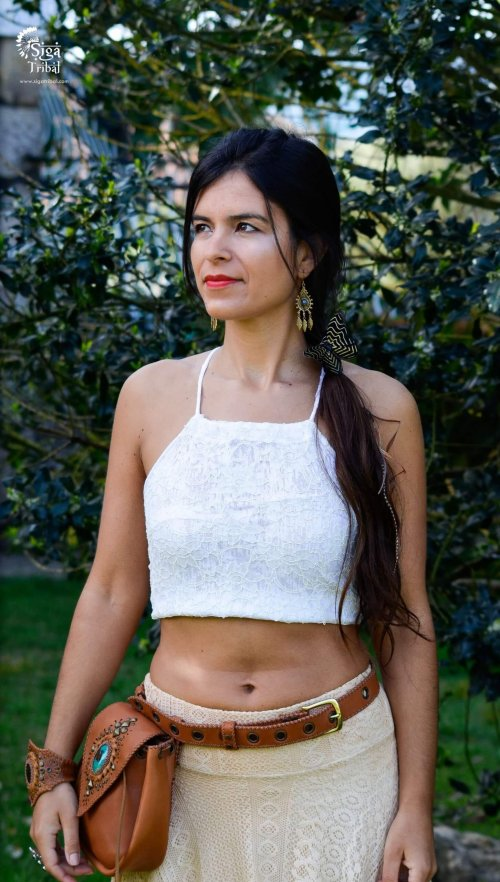 Crop Top Lace by Siga Tribalwear