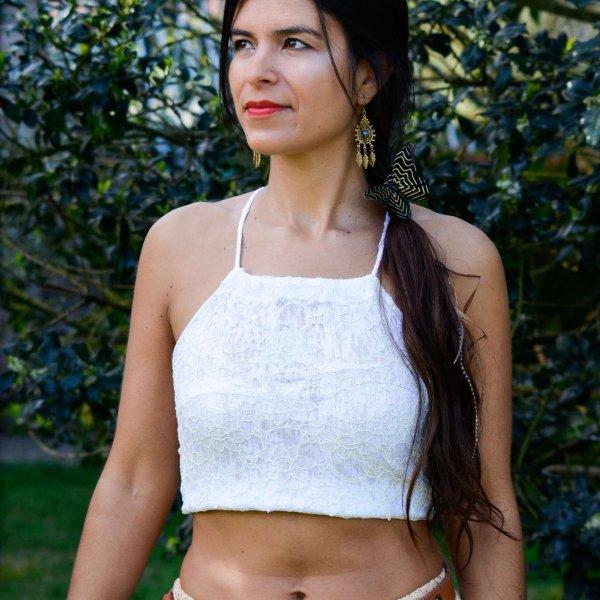 Crop Top Lace by Siga Tribalwear