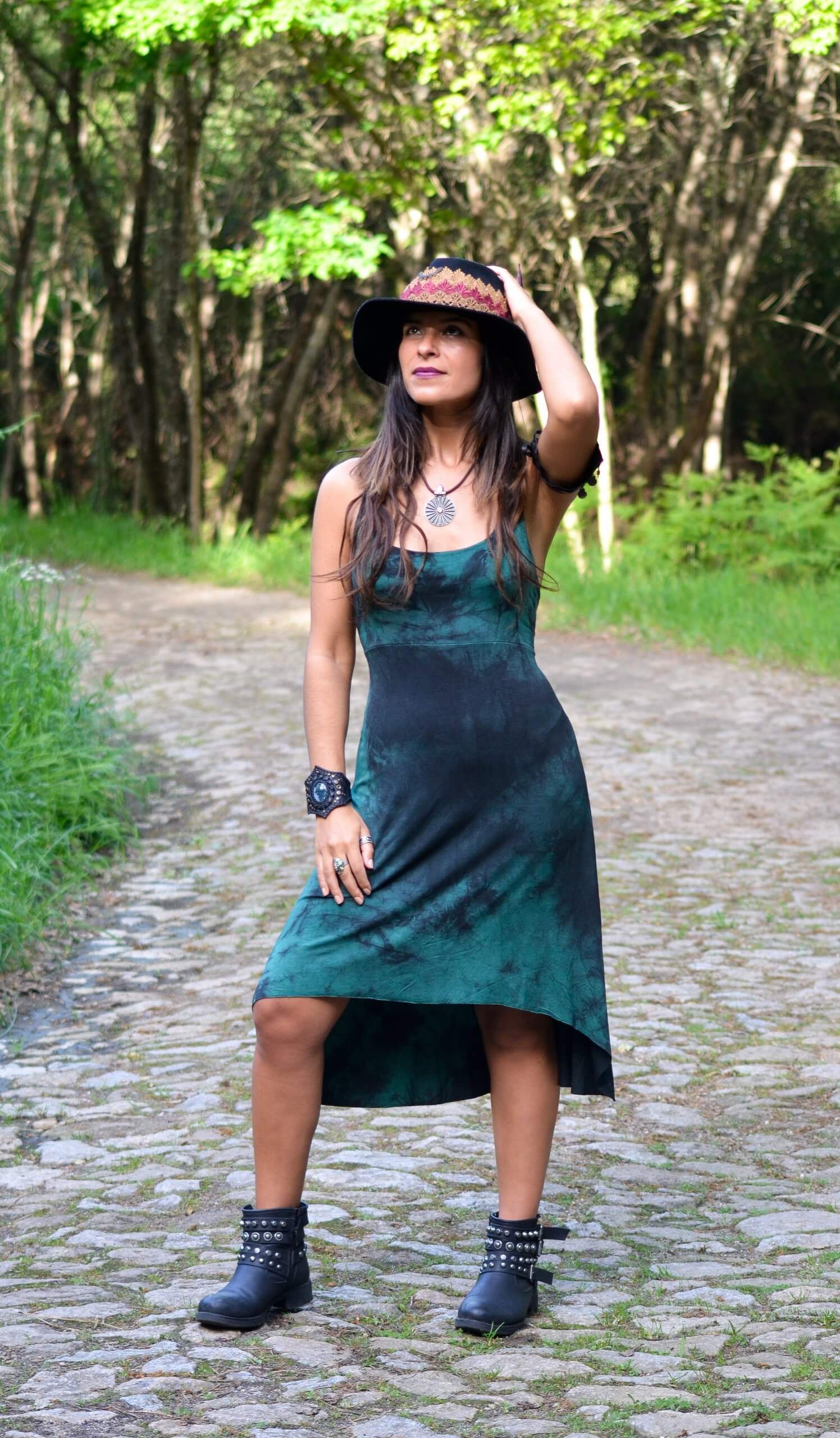 Dress Teal by Siga Tribal