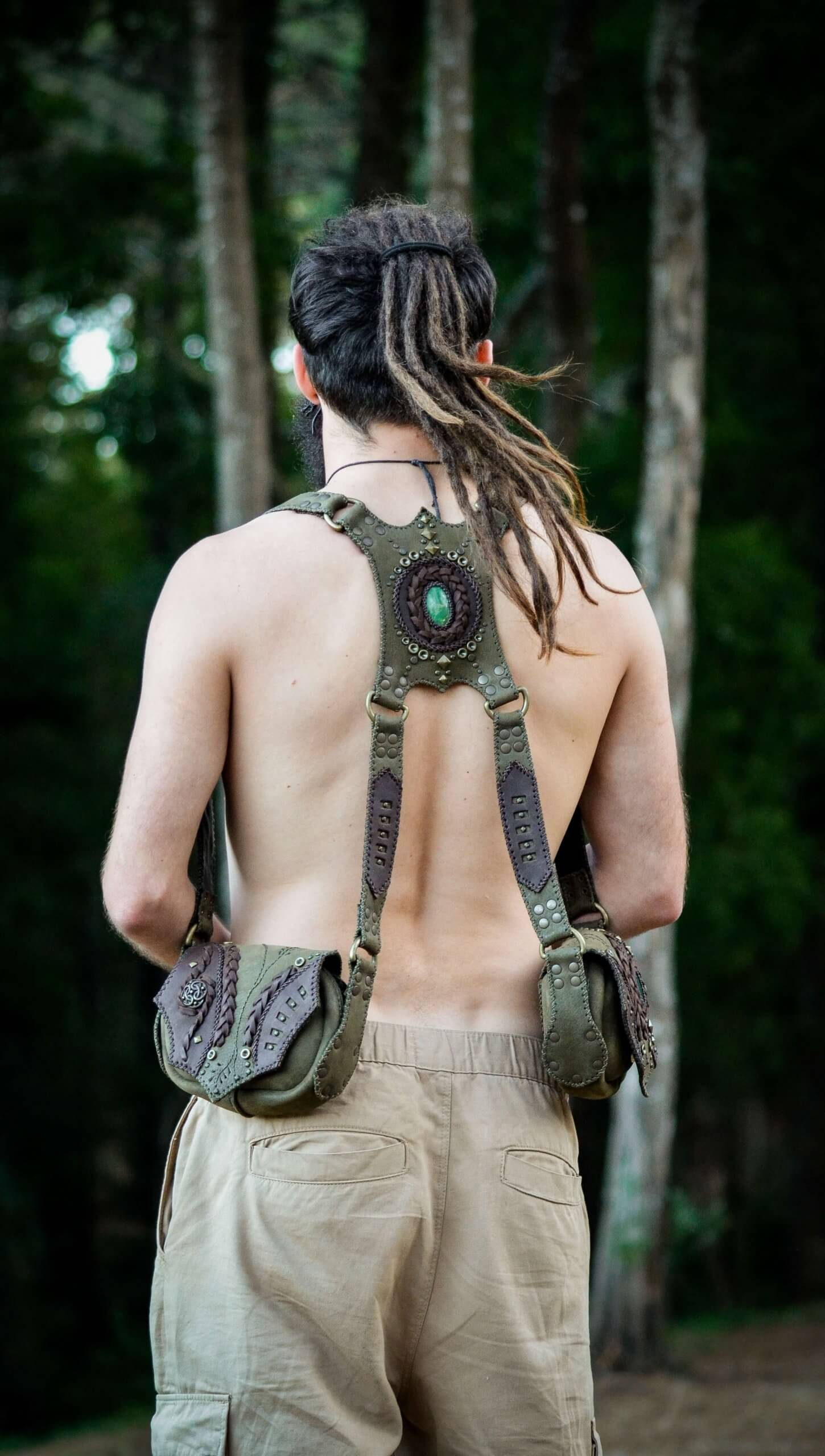 Green Holster by Siga Tribal