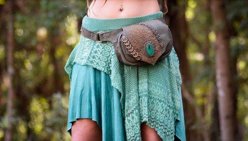 Belt Bag Malachite by Siga Tribal