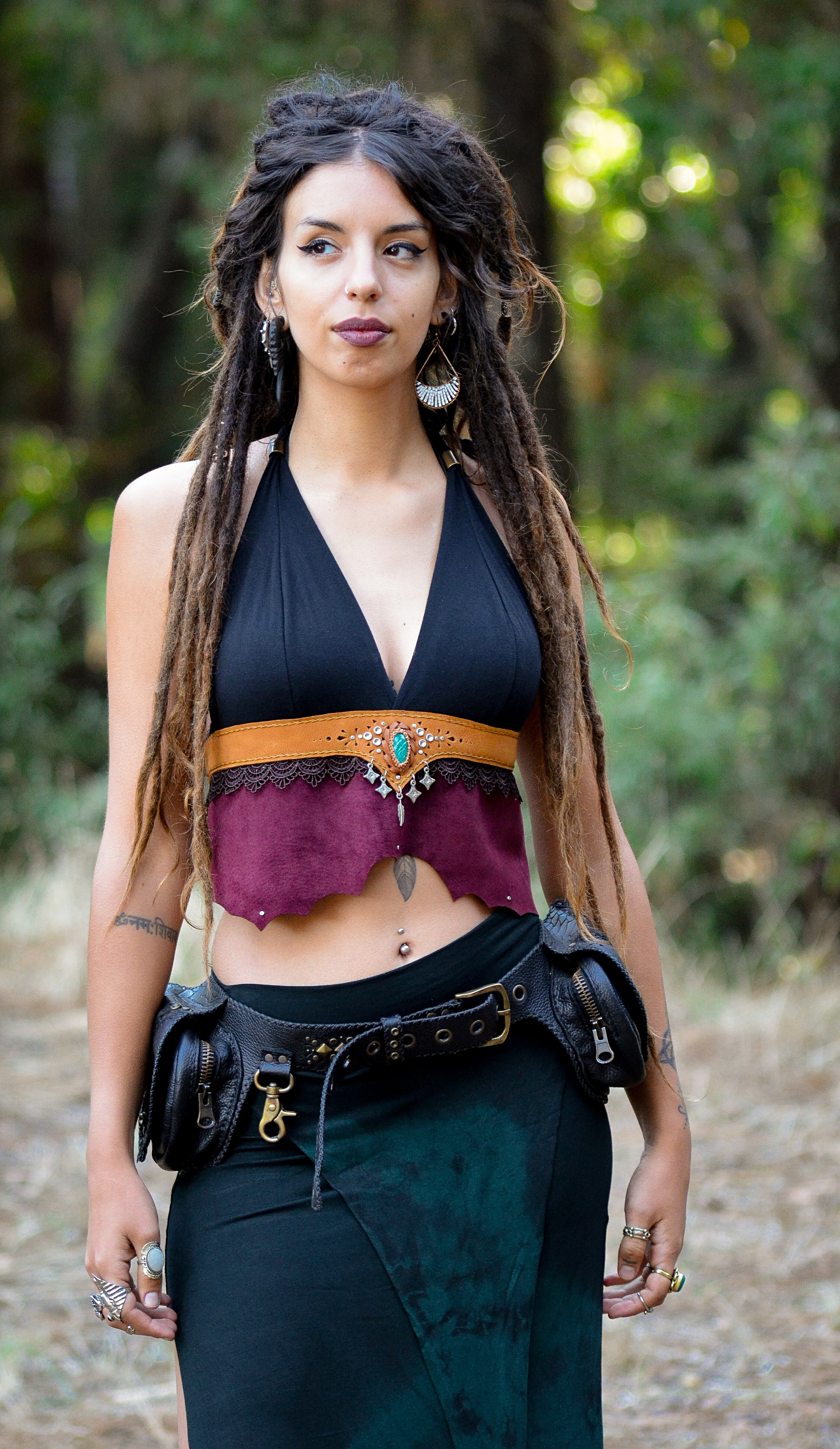 Top Halter Top by Siga Tribal
