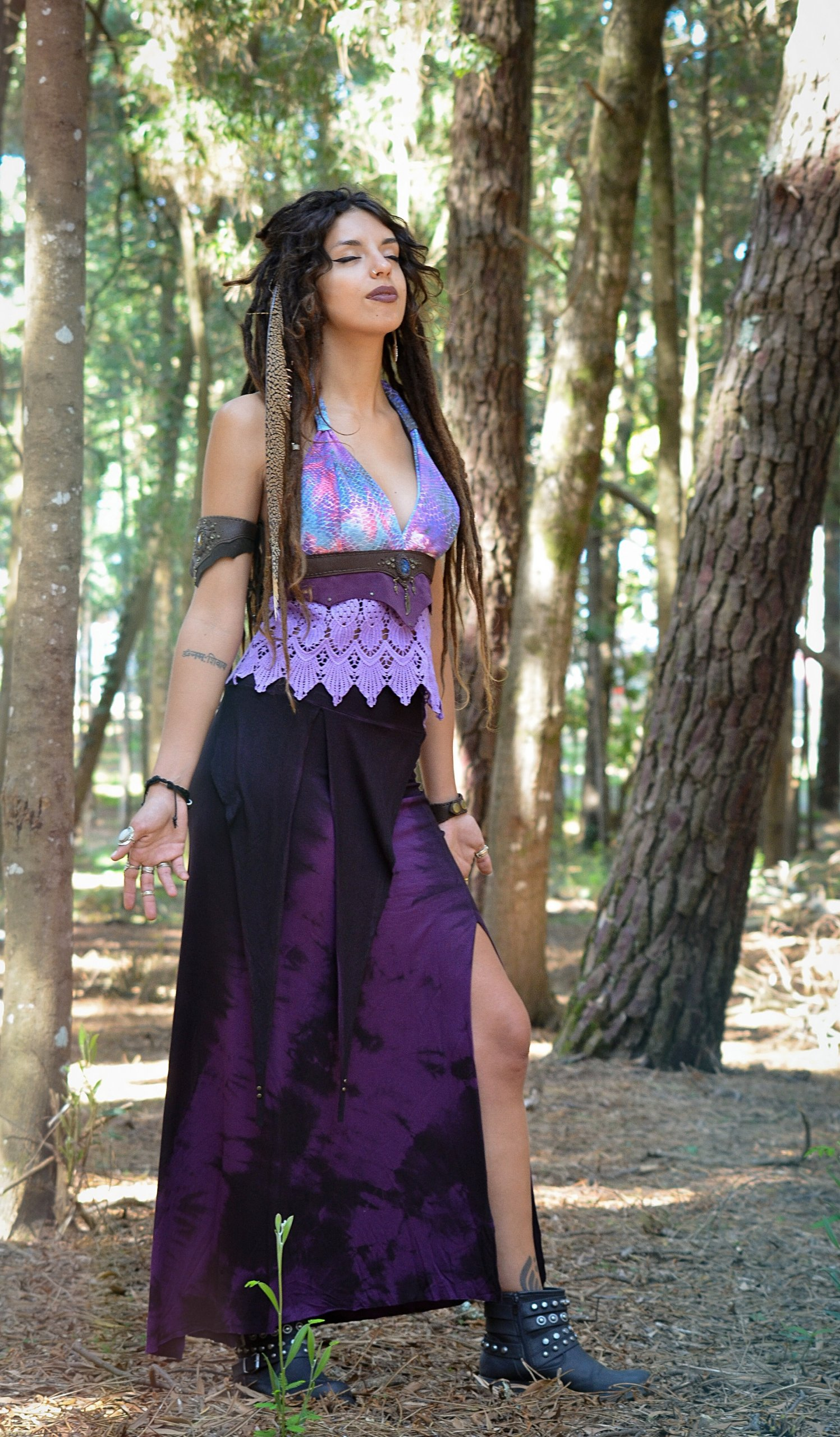 Top Halter Lilac by Siga Tribal