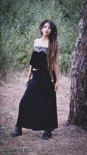 Goddess Strapless Top by Siga Tribal