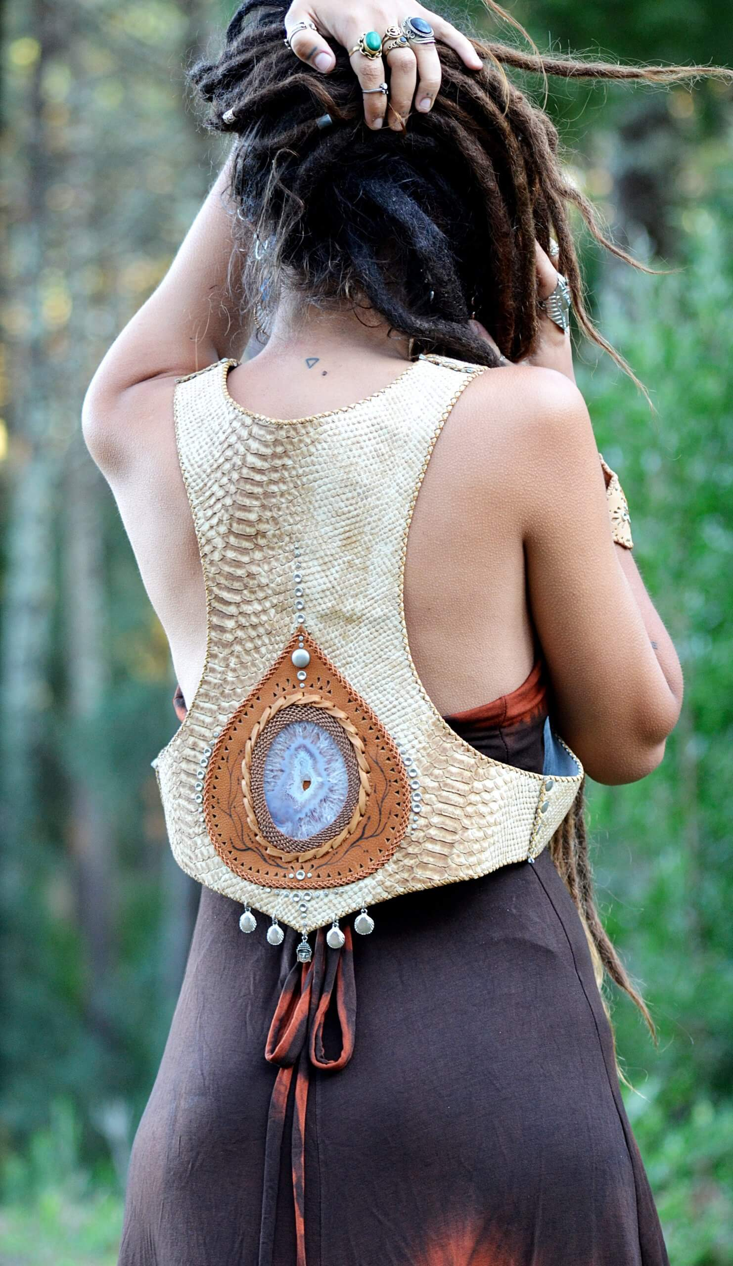 Vest Mermaid by Siga Tribal
