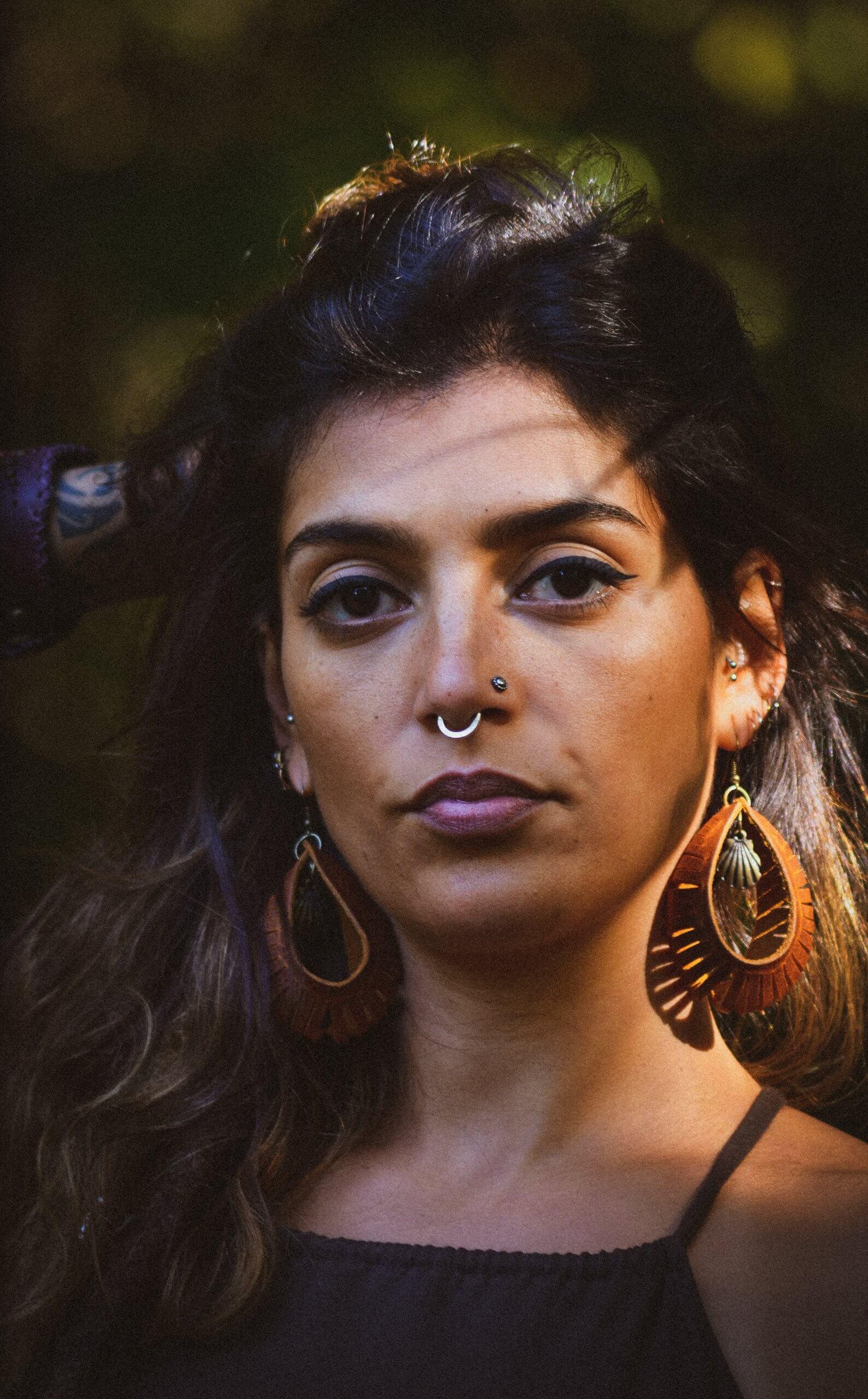 Earrings by Siga Tribal