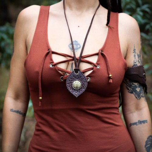 Necklace Troya by Siga Tribal