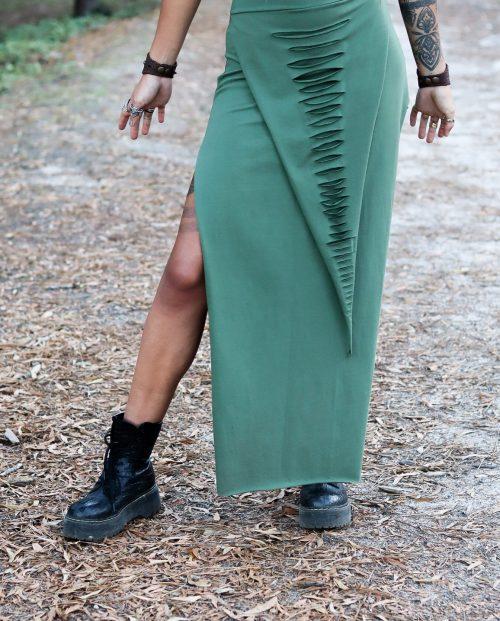 Maxi Skirt Sage by Siga Tribal