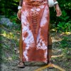 Maxi Skirt Peach by Siga Tribal
