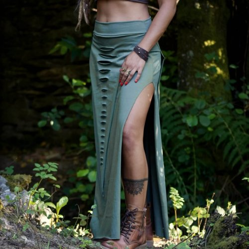 Maxi Skirt Sage by Siga Tribal