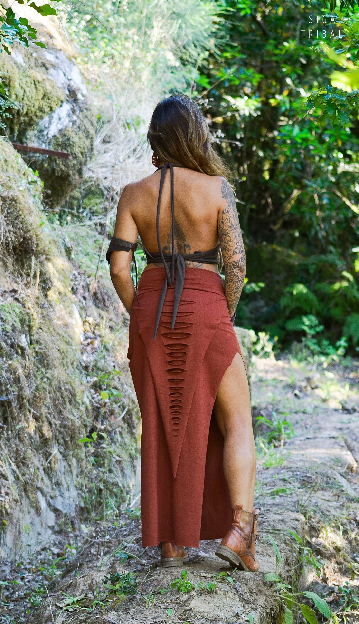 Maxi Skirt Terra by Siga Tribal