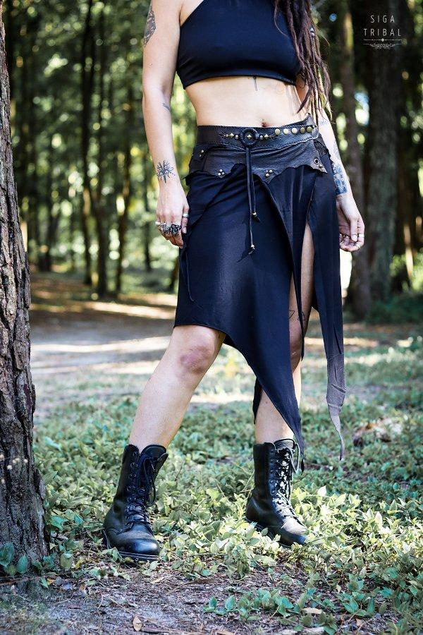 Skirt Black Pearl by Siga Tribal