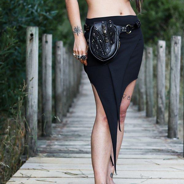 Skirt Pixie Black by Siga Tribal