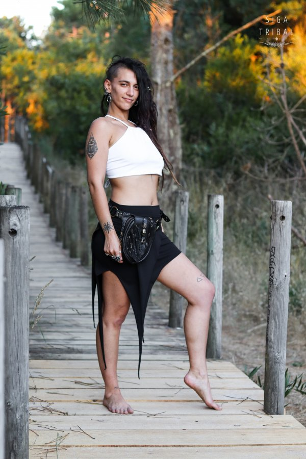 Skirt Pixie Black by Siga Tribal