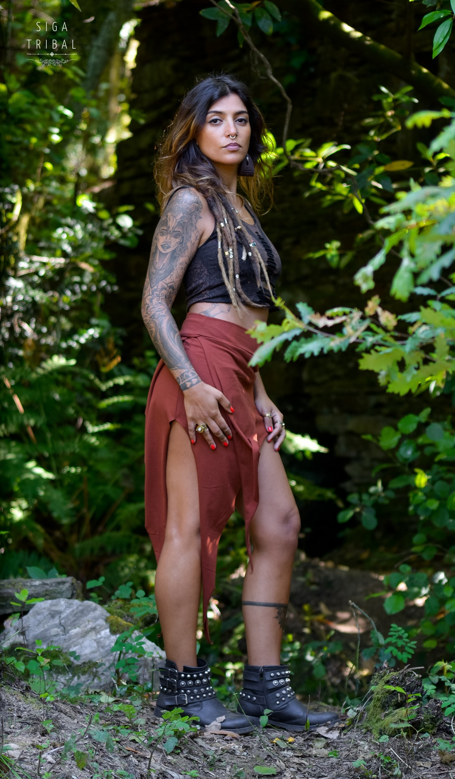 Pixie Skirt by Siga Tribal