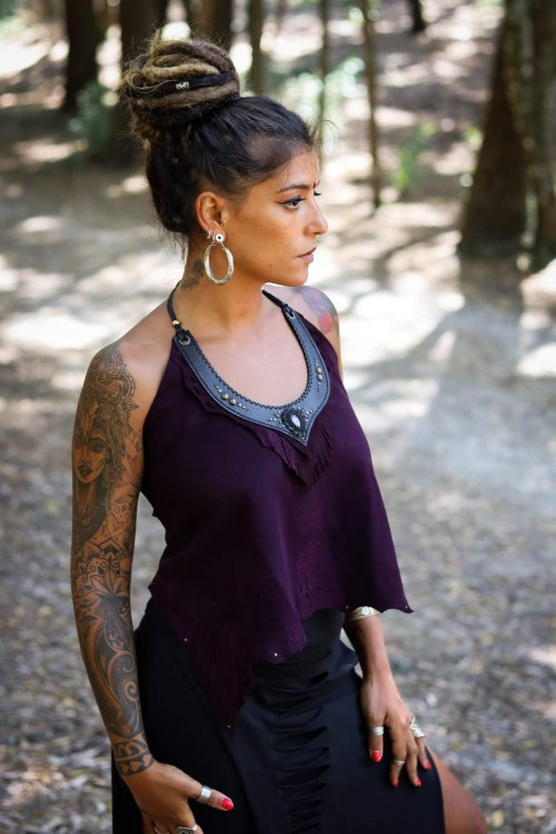 Top Anahata by Siga Tribal
