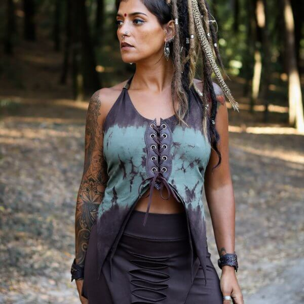 Top Butterfly Mint by Siga Tribal