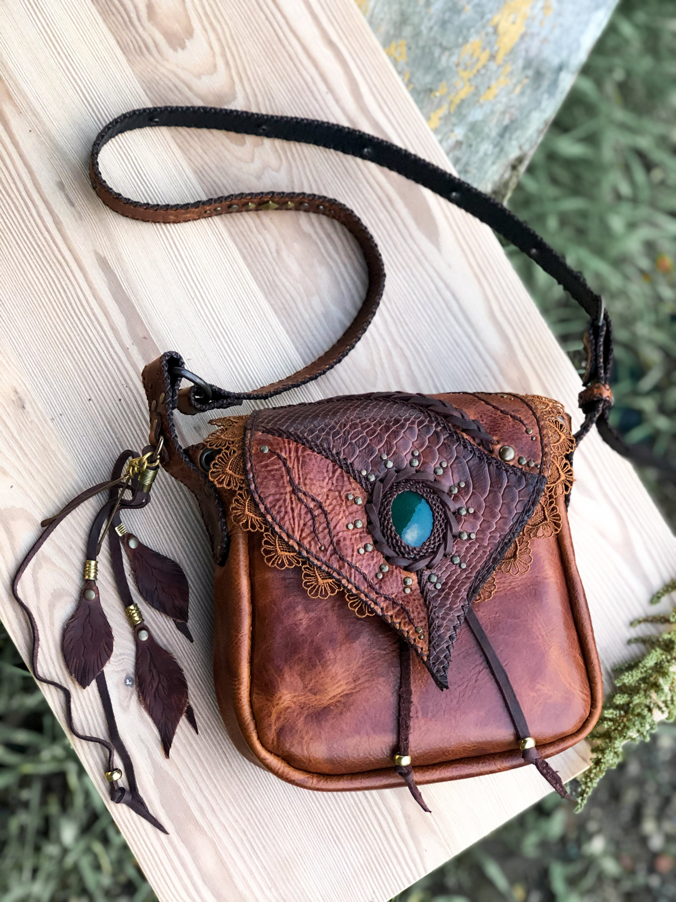 Bag Tawny by Siga Tribal