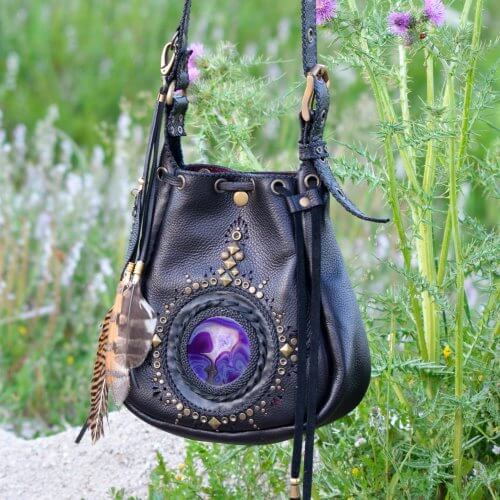 Violete Bag by Siga Tribal
