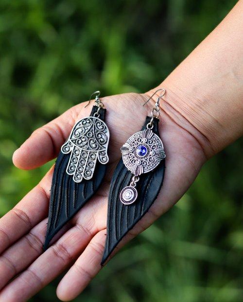 Devi Earrings by Siga Tribal