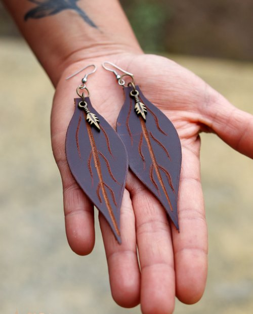 Roots Earrings by Siga Tribal