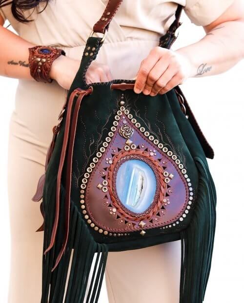 GREEN Bag by Siga Tribal