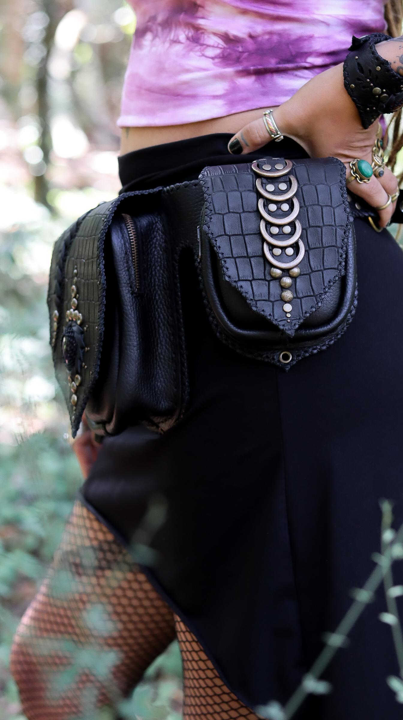 Croco Belt Bag by Siga Tribal