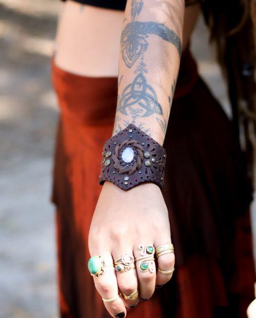Moon Stone Bracelet by Siga Tribal