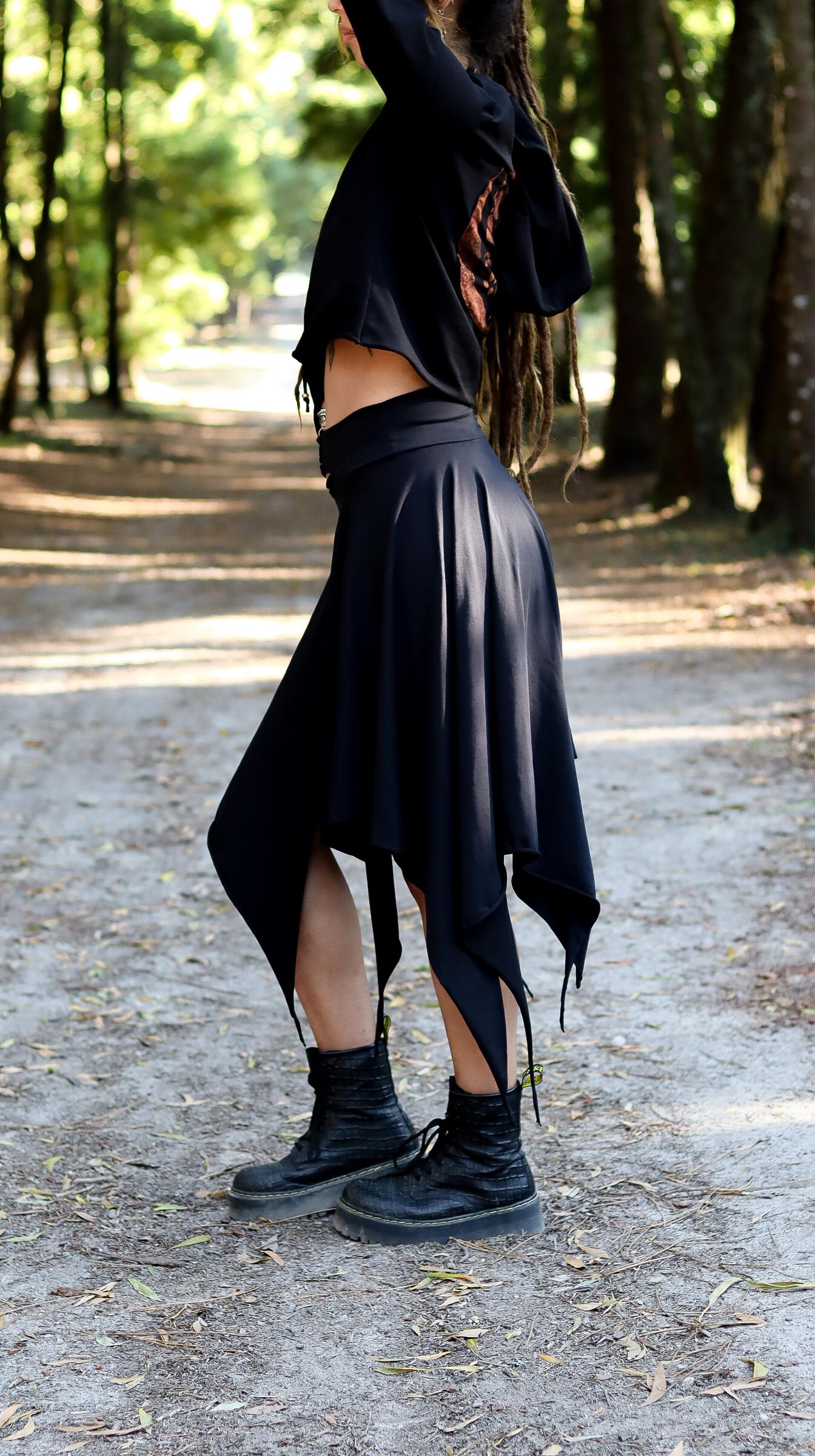 Midnight Skirt by Siga Tribal