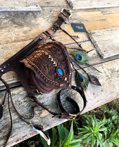 Dragon belt bag by Siga Tribal
